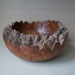 burr elm bowl, woodturning, burr elm, hand carved, bowl, woodturner, Scotland, bespoke gift, custom made, Scottish wood,