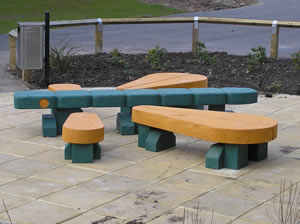 dragonfly seating ,friendship seat, school playground, sculpture, durable, friendship bench, bespoke, outdoor bench,