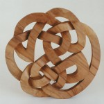 celtic knotwork, hand carved, celtic design, knotwork, maple, Scottish, custom-made, bespoke, celtic carving,
