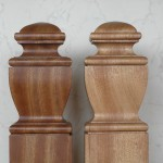 mahogany, newel post caps, restoration, oak, pitch-pine, square-section,custom made, bespoke,