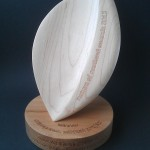 Nature of Scotland Awards 2013, elm, sycamore, Scottish, trophies, sustainable, hand made, bespoke, custom made,award design,