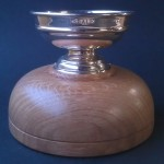 trophy plinth , trophy base, oak, trophy, hand made, Scottish, woodturned, bespoke, custom made, presentation, gift, retirement,