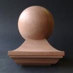 mahogany, newel cap, moulding, Victorian, replica, custom made, wood turning,