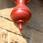 pendant finial, specialist joinery, reclaimed wood, restoration, Barnton Hotel, Scotland