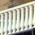 turned, hardwood,specialist joinery, balusters,restoration, Scottish,Barnton Hotel,