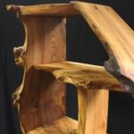 elm, burr elm, bespoke furniture, custom made furniture, Scottish furniture , bespoke cabinet, shelving, dresser, furniture,