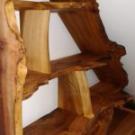 elm, burr elm, bespoke furniture, custom-made furniture, bespoke cabinet, shelves, dresser, furniture, Scottish furniture,