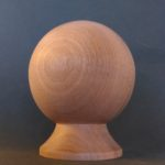 Newel cap, mahogany, replacement, restoration, bespoke, custom made,