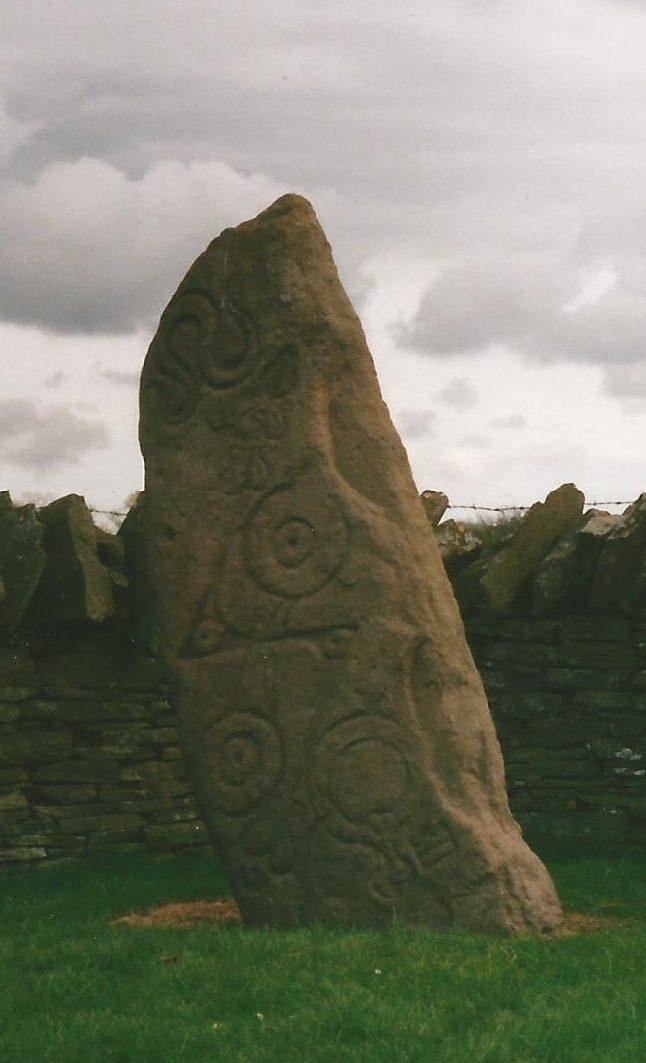 Pictish stone neil fyffeneil fyffe