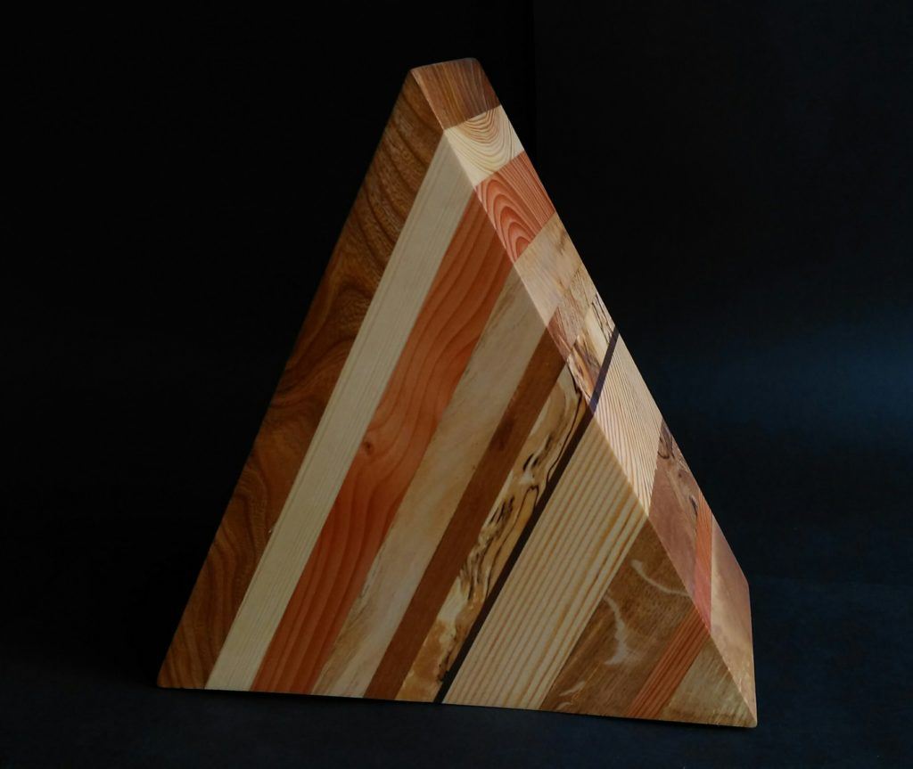 custom made trophy, custom designed trophy, native woods,bespoke award, Scottish wood,
